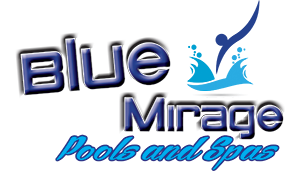Blue Mirage Pools & Spas Logo