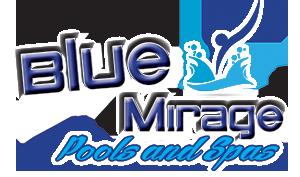 Blue Mirage Pools & Spas Logo